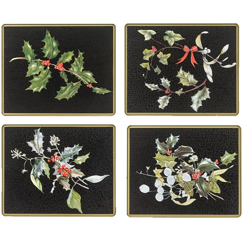 Christmas Glass Placemats & Coasters