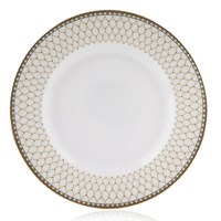 Halcyon Days Antler Trellis Ivory Bread & Butter Plate