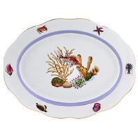 Herend Sea Life Oval Platter
