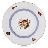 Herend Sea Life Bread & Butter Plate, #6 Red Fish