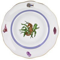 Herend Sea Life Dessert Plate, #4 Seahorse