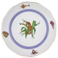 Herend Sea Life Dinner Plate, #4 Seahorse
