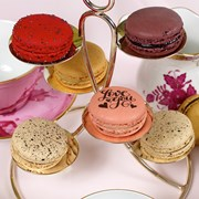 Ercuis Latitude Silverplated Petits-Fours Stand