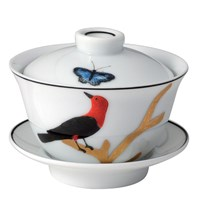 Bernardaud Aux Oiseaux Small Covered Cup