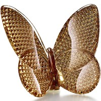 Baccarat Lucky Butterfly Diamant Gold
