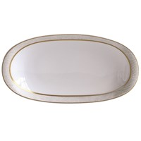 Bernardaud Sauvage Or Relish Dish