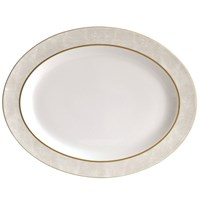 Bernardaud Sauvage Or Oval Platter, Small