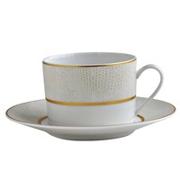 Bernardaud Sauvage Or Tea Cup & Saucer