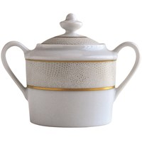 Bernardaud Sauvage Or Covered Sugar Bowl