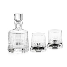 Christofle Crystal Whiskey Set
