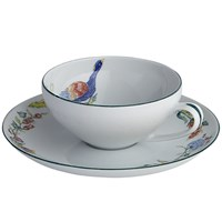 Mottahedeh Sylvanae Tea Cup & Saucer