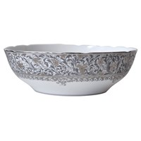 Bernardaud Eden Platine Open Vegetable Bowl