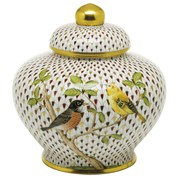 Herend Reserve Songbird Ginger Jar