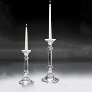 Ingo Crystal Candlesticks