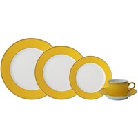 Haviland & Parlon Arc en Ciel, Yellow 5-Piece Place Setting