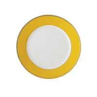 Haviland & Parlon Arc en Ciel, Yellow Bread & Butter Plate