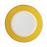 Haviland & Parlon Arc en Ciel, Yellow Rim Soup Bowl