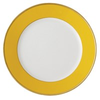 Haviland & Parlon Arc en Ciel, Yellow Dinner Plate