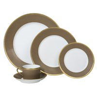 Haviland & Parlon Arc en Ciel, Chestnut 5-Piece Place Setting