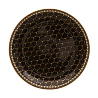 Halcyon Days Antler Trellis Black Coaster