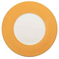 Haviland & Parlon Lexington Yellow Sud Charger / Presentation Plate