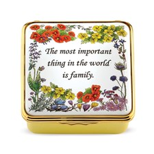 Halcyon Days The Most Important Thing Enamel Box