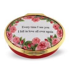 Halcyon Days Every Time I See You Enamel Box