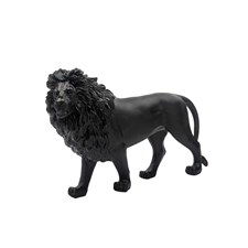 Daum Crystal Black Sand Lion, Limited Edition