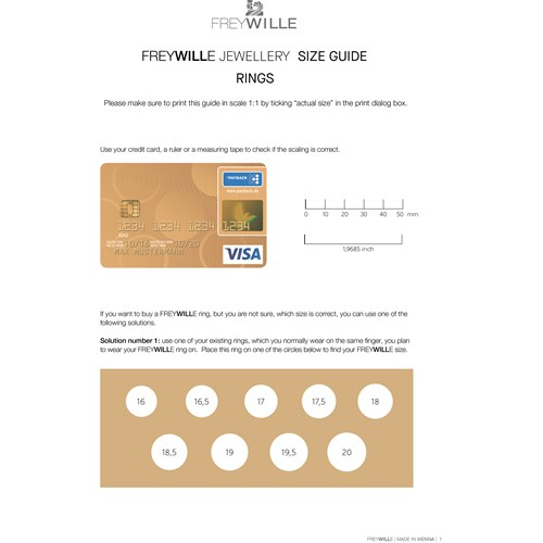 Freywille Claude Monet Iris 24k Goldplated Diva Ring