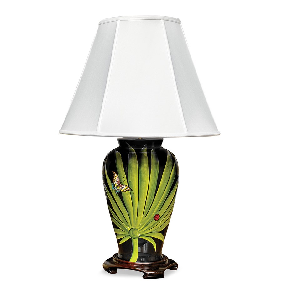 Wild Leaves Lamp | Table Lamps & Desk Lamps | Luxury Lamps ...