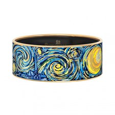 Freywille Vincent van Gogh Éternité Bordered Bangle Donna