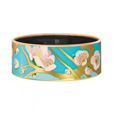 Freywille Vincent van Gogh L'Amandier Turquoise Donna Bangle