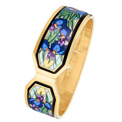 Freywille Claude Monet Goldplated Iris Contessa Bangle