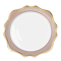 Anna Weatherley Anna's Palette Dusty Rose Charger / Presentation Plate