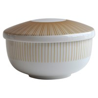 Bernardaud Sol Rice Bowl with Lid