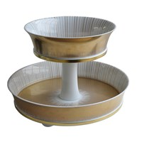 Bernardaud Sol 2-Tier Tray