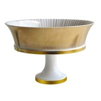 Bernardaud Sol Footed Cake Plate