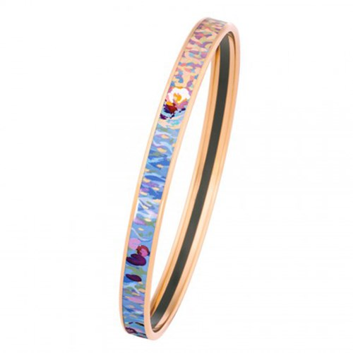 Freywille Claude Monet Orangerie Rose Bordered Ultra Bangle
