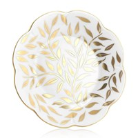 Royal Limoges Nymphea Olivier Gold Bread & Butter Plate