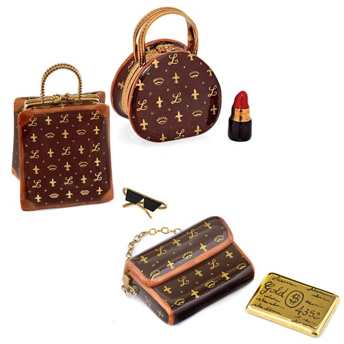 Designer Bag Limoges Boxes
