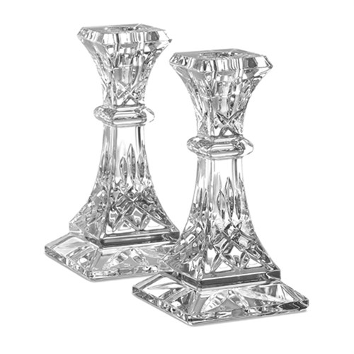 Waterford Lismore Candlesticks, Set of 2