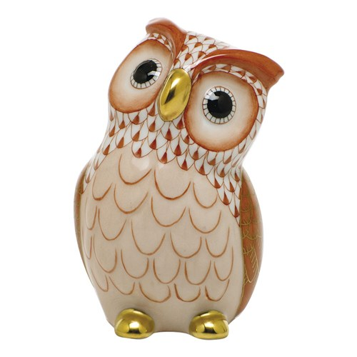 Herend Owl, Rust