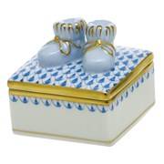 Herend Baby Bootie Box