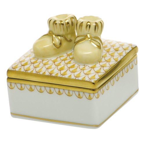 Baby Bootie Box, Butterscotch