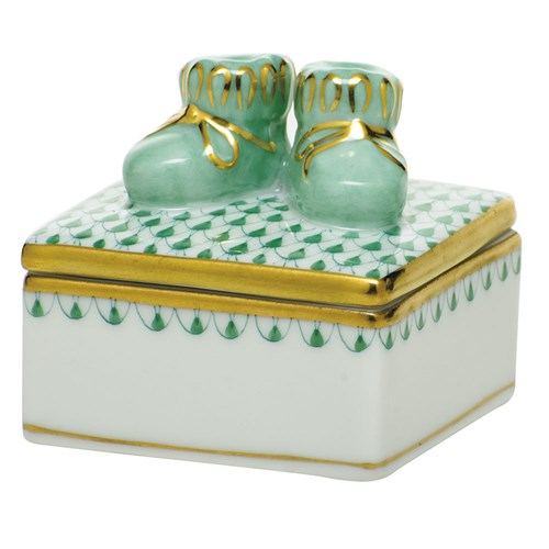 Baby Bootie Box, Green