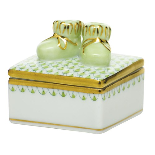 Baby Bootie Box, Key Lime