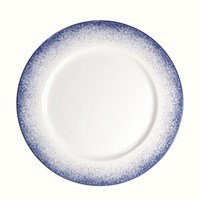 Royal Limoges Blue Fire Dinner Plate