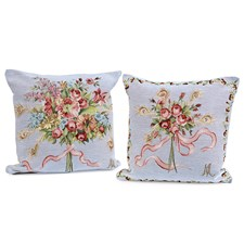 Marie Antoinette Bouquet Tapestry Pillows
