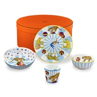 Hermes Circus Set of 4, Blue