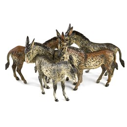 Austrian Bronze Donkey Group